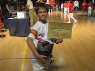 Daniel Antón (CESL) Campeón de España Benjamín II 2012