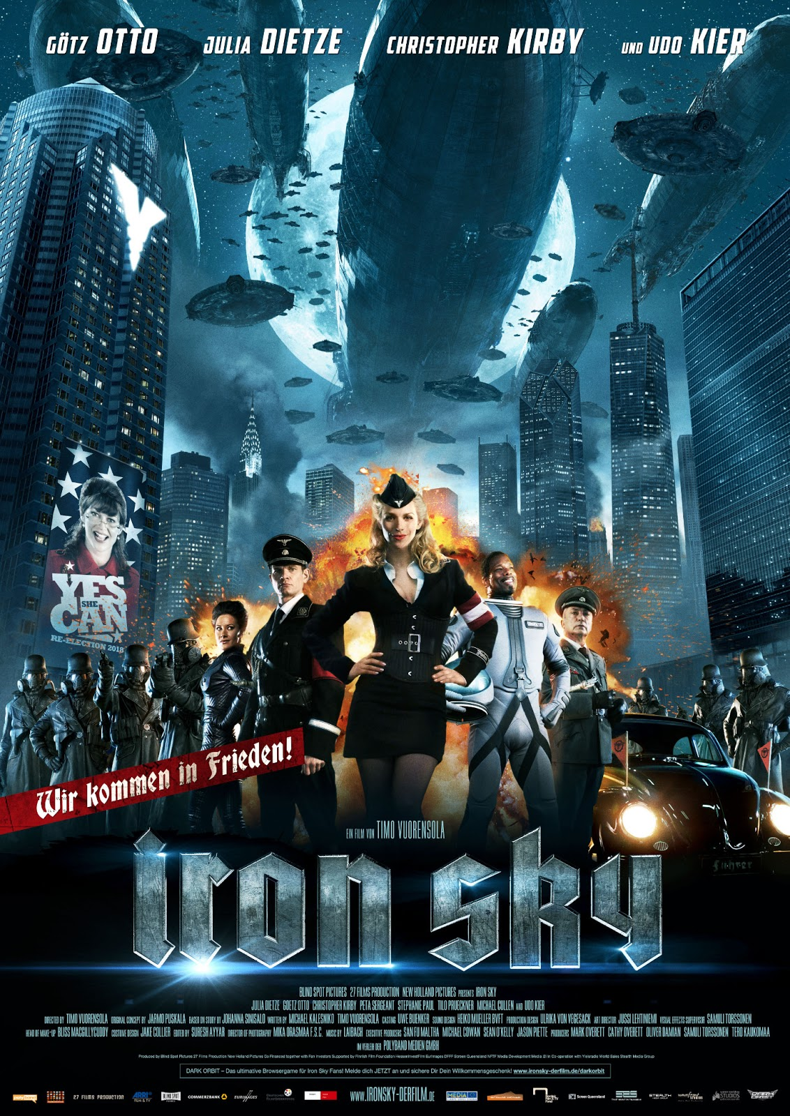 Iron sky movie opinion