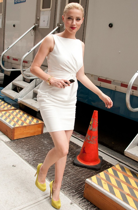 Amber Heard Fashion Casual and Dresses