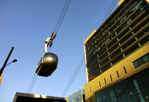 portland aerial tram pacific northwest travel photography