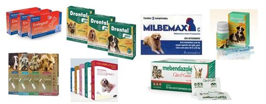 Melhores vermífugos para cães