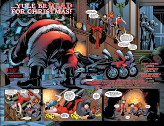 Pages 2 and 3 of Red Hood and the Outlaws Annual #2