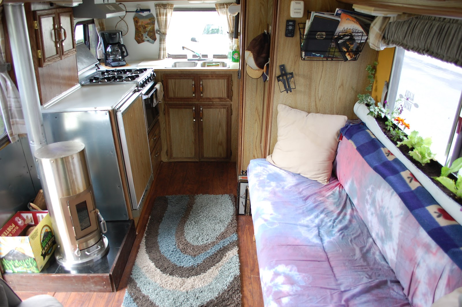 living in a van down by the river rock roll. Black Bedroom Furniture Sets. Home Design Ideas