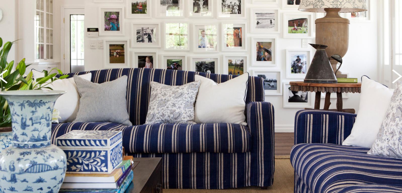 Boiserie c bianco blu 22 idee di arredo vincenti for Idee di arredo