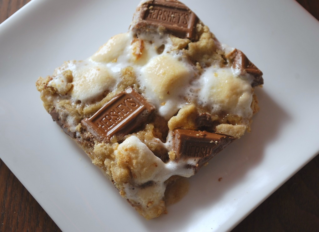 The Moody Fashionista: Graham Cracker S'mores Bars