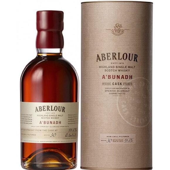 亞伯樂原酒 Aberlour a'bunadh 首選原桶單一純麥威士忌