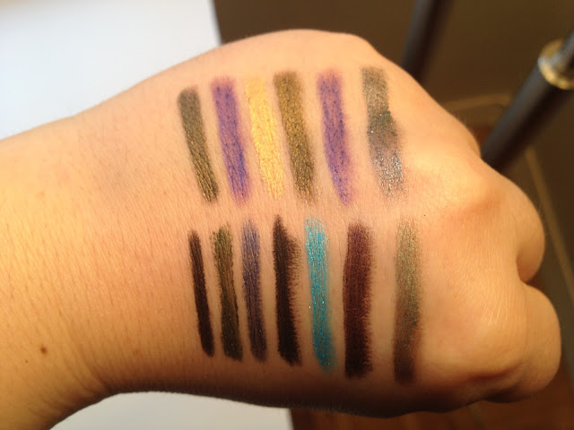 Eye Pencil Swatches