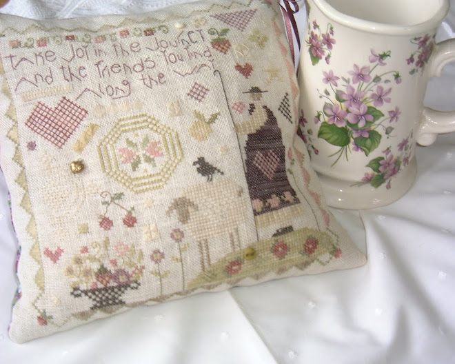 The Journey Stitched by Barb Blundell