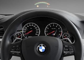 Strumentazione della nuova BMW M5 F10 (2012)