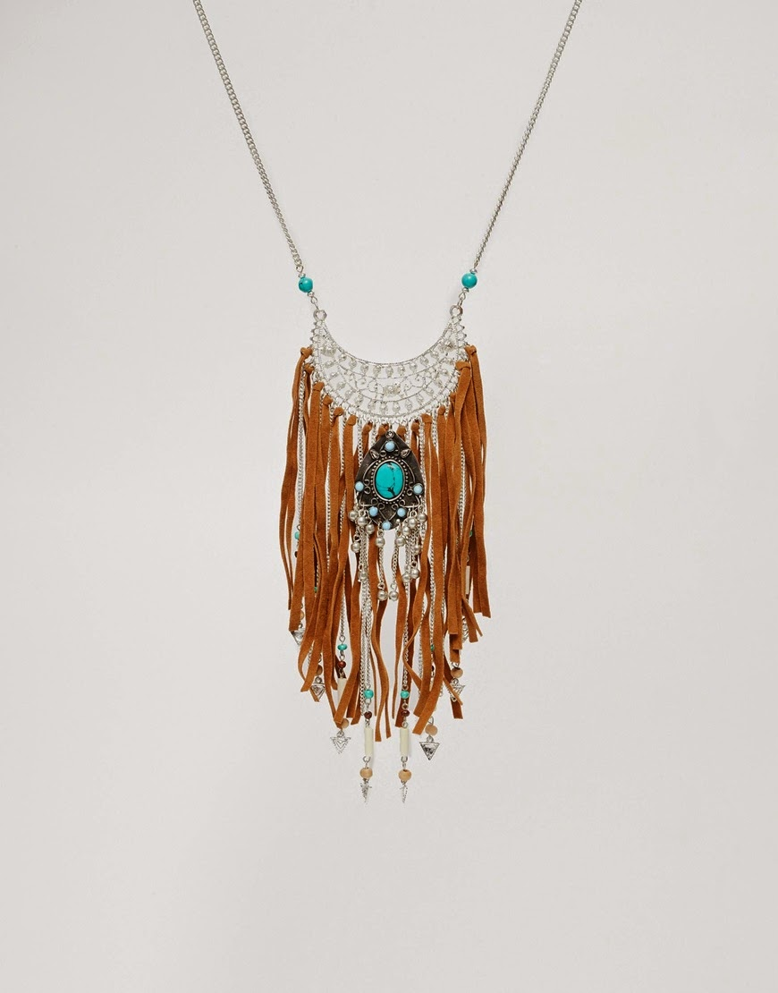 suede necklace