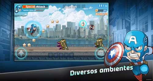 Download Marvel Run Jump Smash Jogo Android