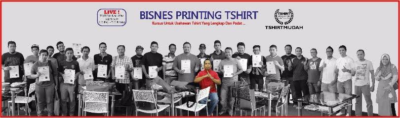 TSHIRTMURAH : T-Shirt Printing, Kursus Printing Tshirt, T-shirt Custom Tshirtmudah.com