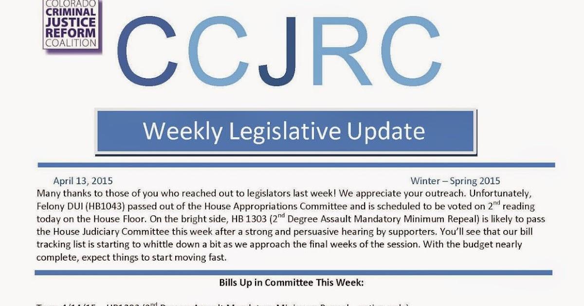national legislative update april