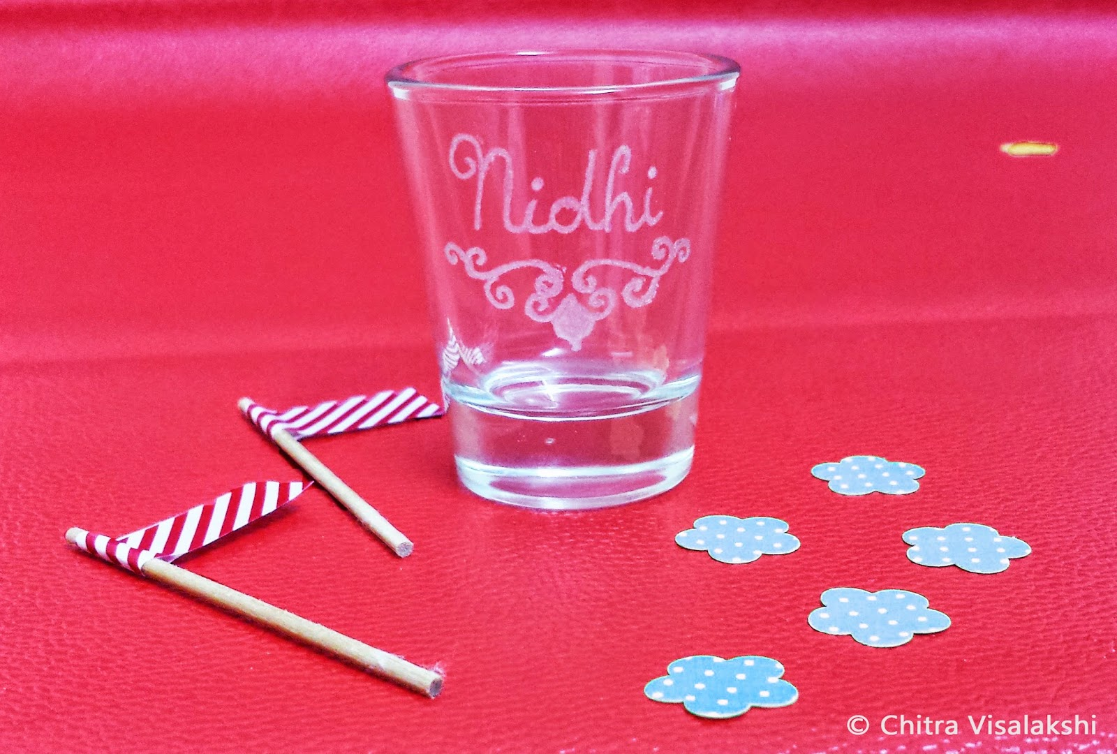 Craft with Chitra: Glass Engraving - Shot Glasses