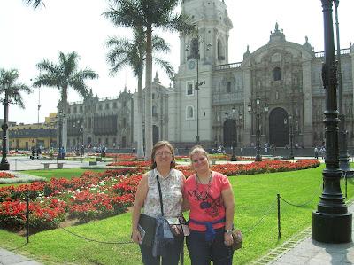 Plaza de Armas, Plaza Mayor,  Lima, Perú, La vuelta al mundo de Asun y Ricardo, round the world, mundoporlibre.com