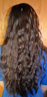 opsat hår med krøller