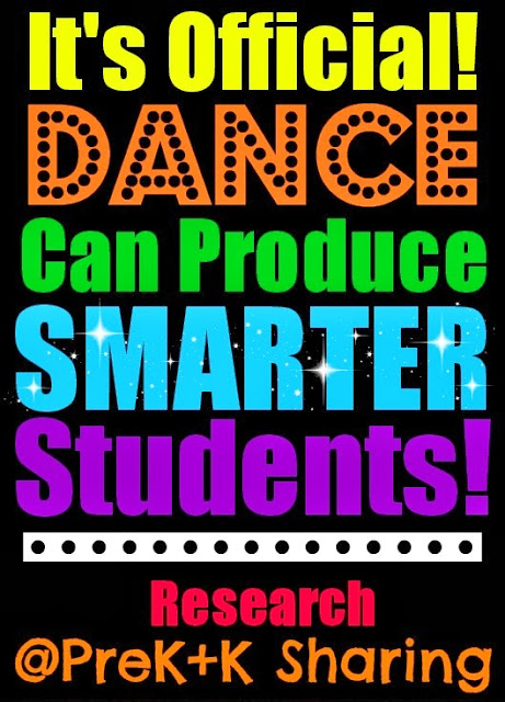It's Official: DANCE can Produce Smarter Students ~~ Research at PreK+K Sharing