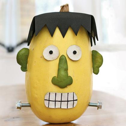 Тиква за Хелоуин - декорация на дома