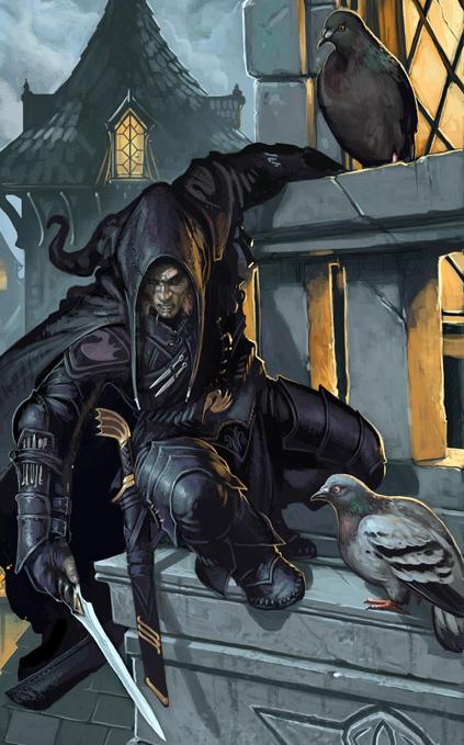Image result for D&D undead assassin