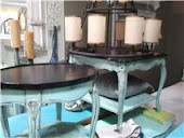 TWO UNIQUE END TABLES $150.STILL AVAIL..