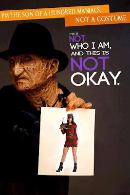 An important message from Freddy Krueger