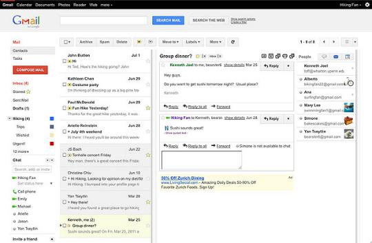 Cómo habilitar vistas previas en Gmail