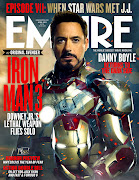 Iron Man 3: Tony Stark en la Nueva Portada de Iron Man 3 para la Revista . (ironman pepper )