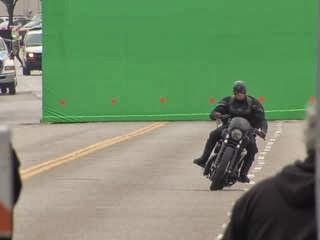 Filming Captain America: The Winter Solider on the Fairview Bridge