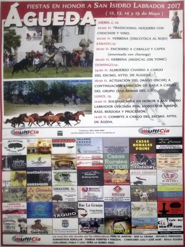Gueda del caudillo san isidro 2017 salamanca for Eventos madrid mayo 2017