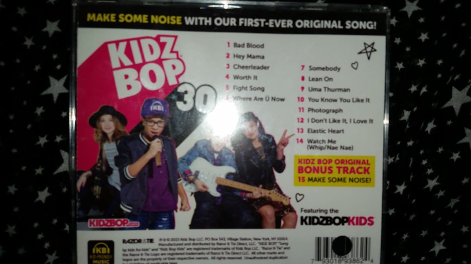 Mommy's Block Party: KIDZ BOP CD's & Tooth Tunes toothbrushes make ...