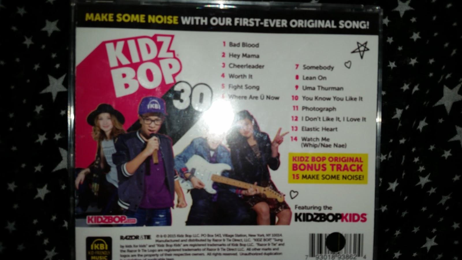 KIDZ BOP CD\'s & Tooth Tunes toothbrushes make perfect Stocking ...