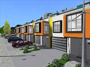 Today I'll share the biggest version of the Mondrian Row Houses.