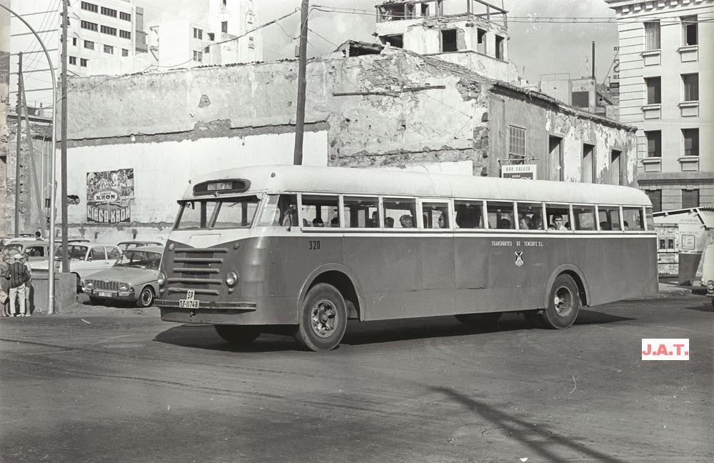 Madrid transportes urbanos canarias 1970 7 - Transporte tenerife ...