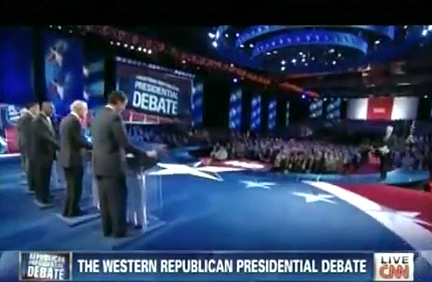 CNN / Western Republican presidential debate 10/18/11 FULL DEBATE VIDEO