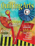 June/July 2010 issue of Quilting Arts Magazine