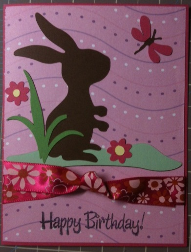 Here Is A Simple Birthday Card I Made For My Sisters Friend