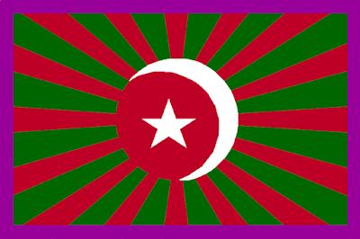 Bendera yang digunakan batalion PETA