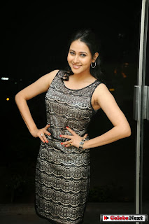 Actress Panchi Bora Latest Pictures in Short Dress at Yamini Chandrasekhar Audio Launch  0018.jpg