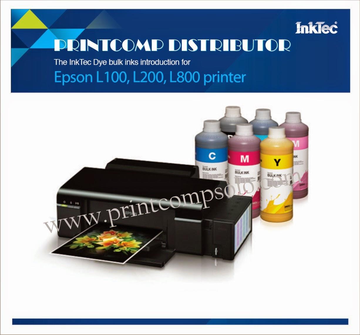 Printcomp Distributor Printer Canon Ip2770 System Tinta Infus Inktec Adalah Korea Terbaik Yang Setara Dengan Original Menggunakan Akan Membuat Head Dan Cartridge Anda