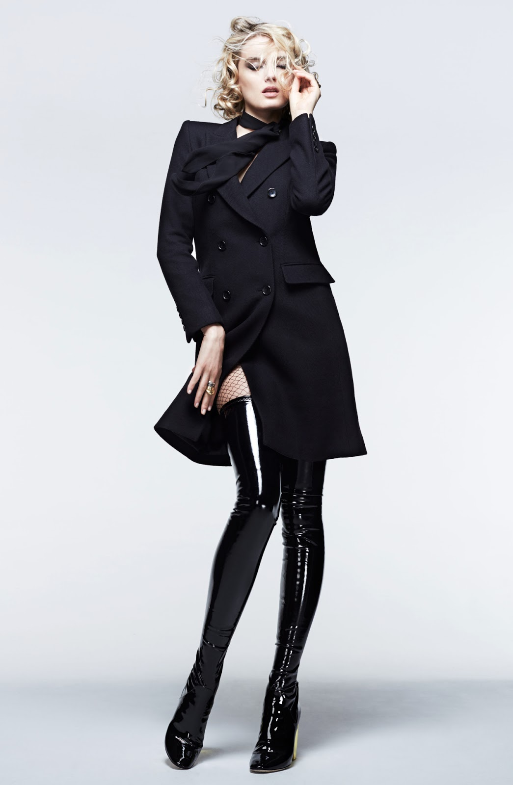 Carine Roitfeld x Uniqlo collaboration collection pieces via fashionedbylove.co.uk british fashion blog