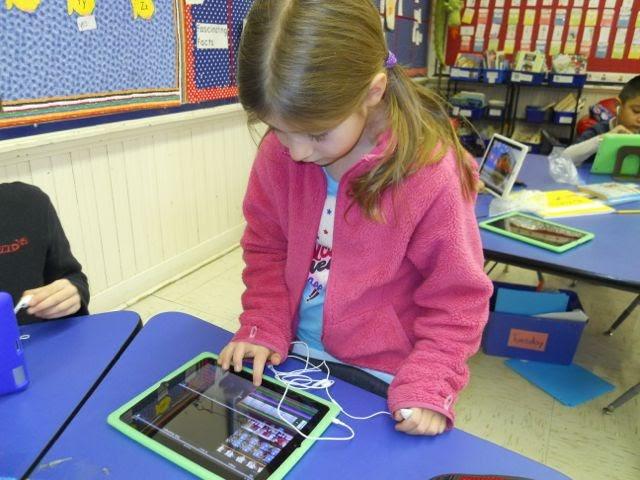 Ipads In Elementary Schools iPads at Burley...