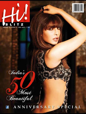 Priyanka Chopra Hi! Blitz Magazine November 2012 Issue