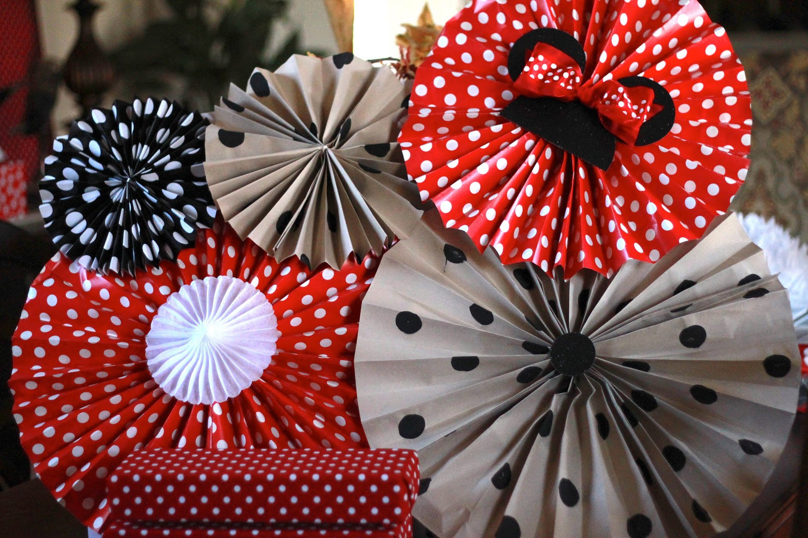 The Shiny Pebble Minnie Mouse Birthday Party