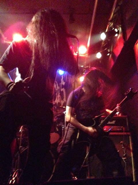 Neuroticos performing at Blood Rite Vol. 8