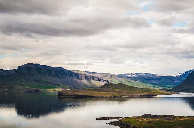 Islandia, droga do Akranes prowadząca nie przez tunel