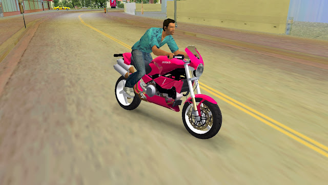 Ducati Monster GTA Vice City