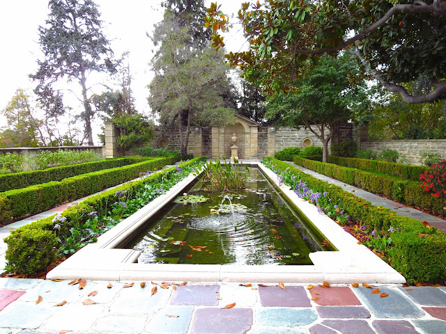 Greystone Mansion Beverly Hills lily pond garden landscaping estate manor
