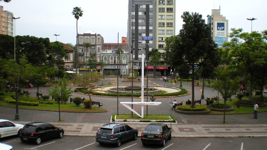 Praça Dante Alighieri-Caxias do Sul