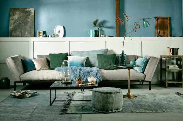 Möbel, Leuchten und Accessoires in Türkis - Wohnen und Einrichten in sanften Grüntönen