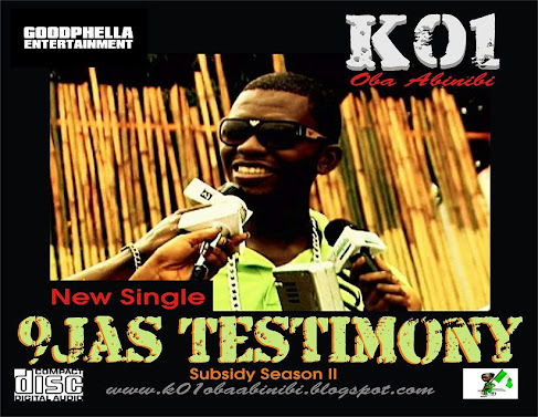 NEW MUSIC: K01 - 9ja's Testimony
